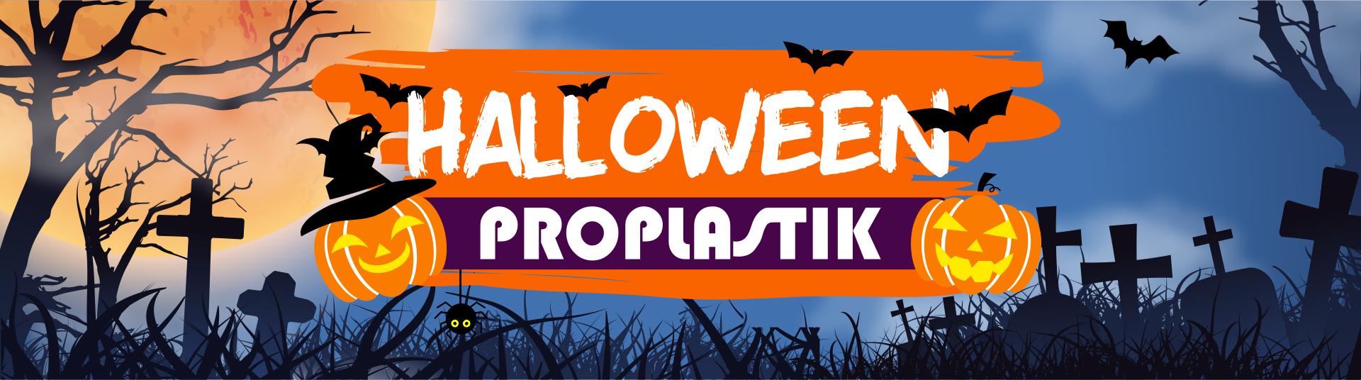 Halloween proplastik