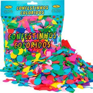 Confetinhos Colorido – 120g – Mundo Bizarro