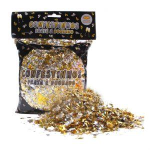 Confetinhos Metalizado – 120g – Mundo Bizarro