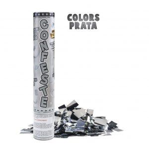 Lança Confete 25cm Prata Mundo Bizarro