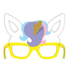 Óculos Máscara de Unicórnio