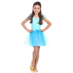 Fantasia Infantil Bailarina (Azul)
