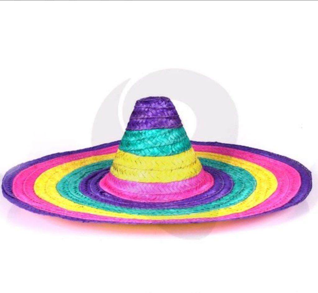 c0c6d385e322f Chapéu Mexicano Colorido