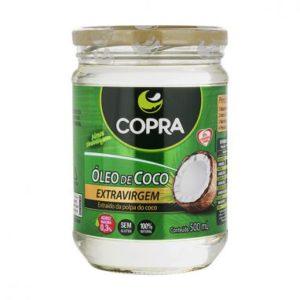 Óleo de coco copra – Com sabor