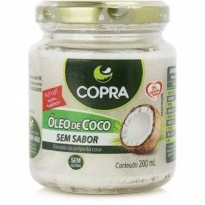 Óleo de coco copra – sem sabor