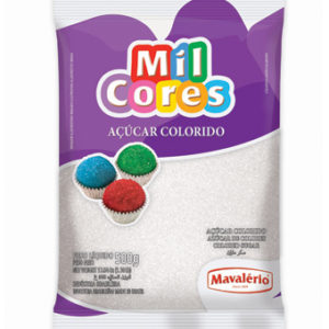 Açúcar Colorido Branco Mil Cores