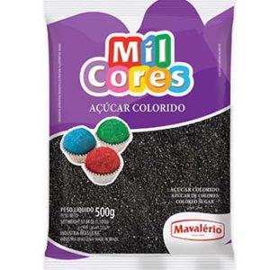 Açúcar Colorido Preto Mil Cores