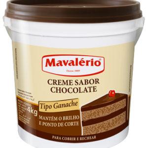 Creme Sabor Chocolate
