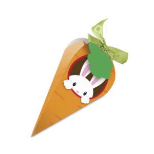 Caixa cenoura coelho na toca