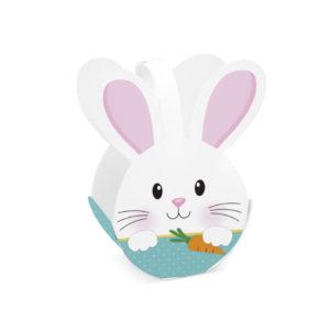 Caixa cesta – coelho soft azul