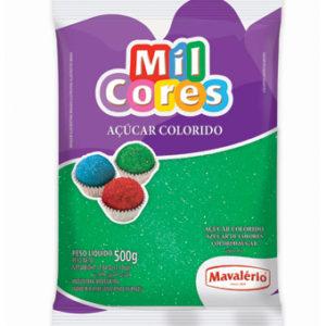 Açúcar Colorido Verde Mil Cores