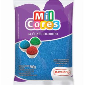Açúcar Colorido Azul Mil Cores