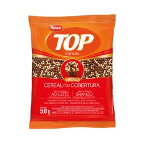 Cereal Ball Micro sabor Chocolate ao Leite e Branco Top 500 g