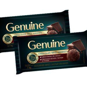 Chocolate Genuine meio amargo