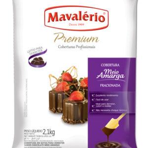 Cobertura Gotas para Derreter Sabor Chocolate Meio Amargo