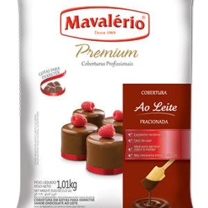 Cobertura Gotas para Derreter Sabor Chocolate ao Leite