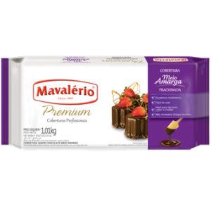Cobertura Fracionada Premium Sabor Chocolate Meio Amargo