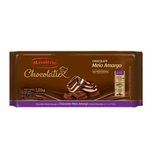 Chocolate Meio Amargo Chocolatier Mavalério