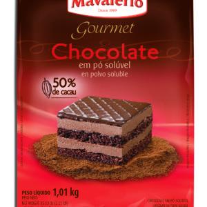 Chocolate em Pó Solúvel 50% Cacau Mavalério