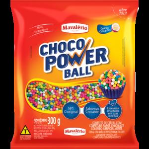 Cereal Drageado Micro Colorido Choco Power Ball