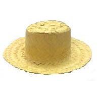 Enfeite Mini Chapéu De Palha Boneca